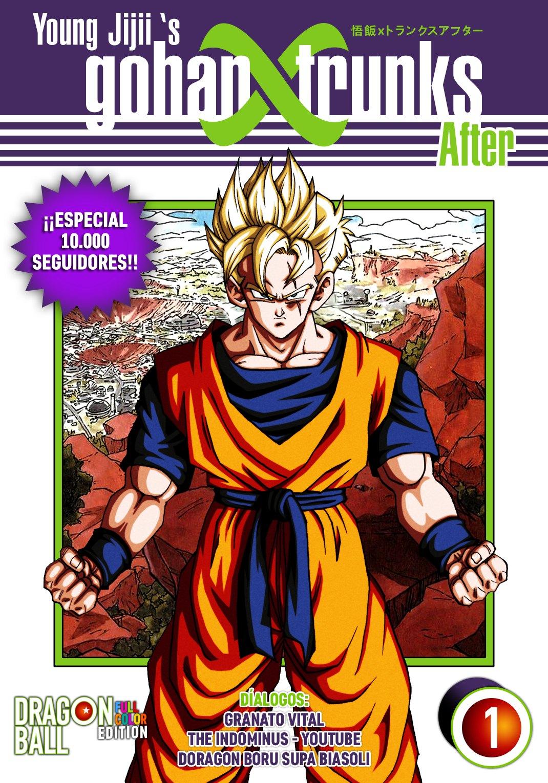 Descargar Dragon Ball Z GohanxTrunks After en PDF por Mega manga completo subtitulado en español