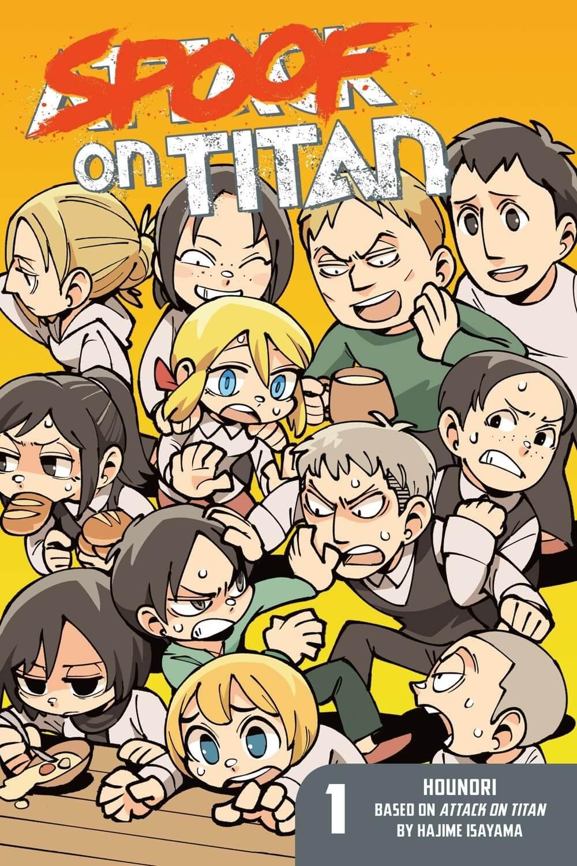 Descargar manga de Attack on Titan Spoof on Titan en PDF por Mega y Mediafire completo en ingles