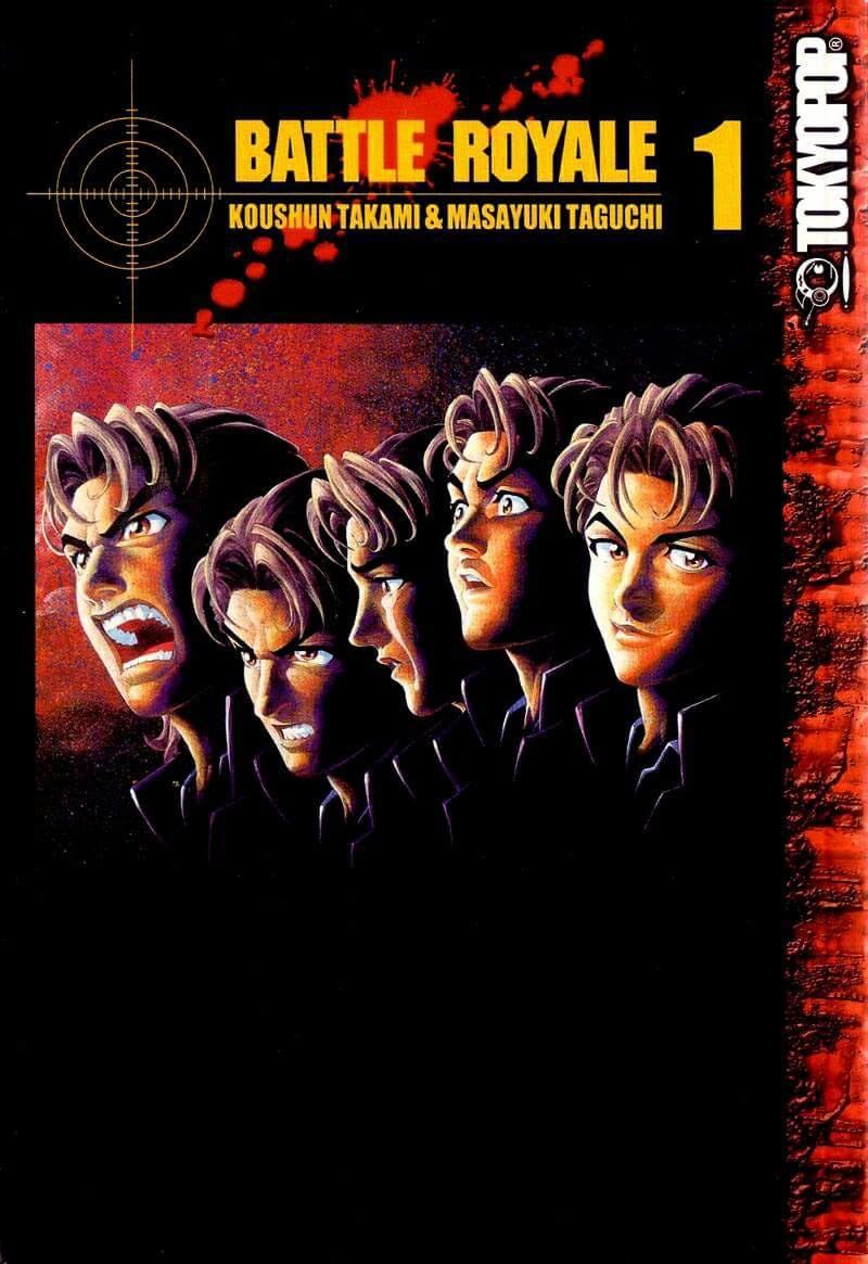 Descargar manga de Battle Royale en PDF por Mediafire manga completo en español