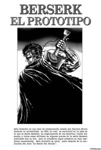 Berserk The Prototype [01/01] [MANGA] [MEGA-MEDIAFIRE] [PDF]