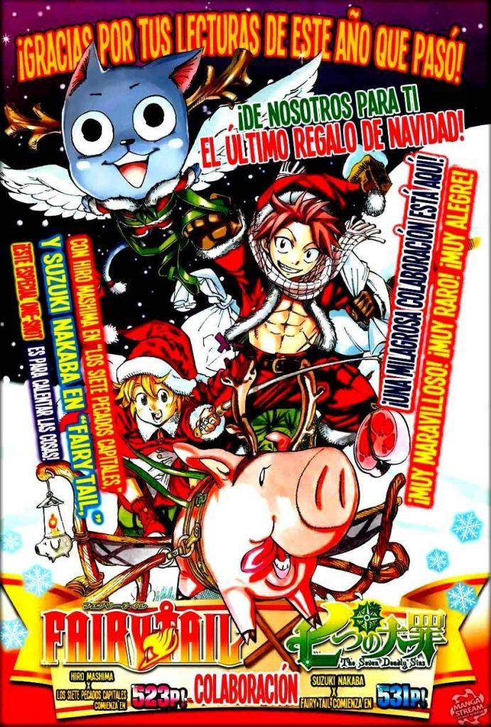 Descargar Fairy Tail x Nanatsu no Taizai en PDF por mega