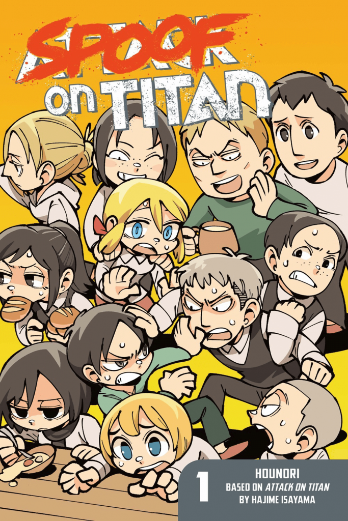 Shingeki No Kyojin Spoof on Titan [20/??] [MANGA] [MEGA-MEDIAFIRE] [PDF]