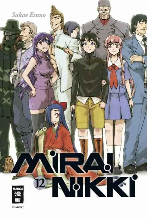 Mirai Nikki [12/12 + Especiales] [MANGA] [MEGA-MEDIAFIRE] [PDF]
