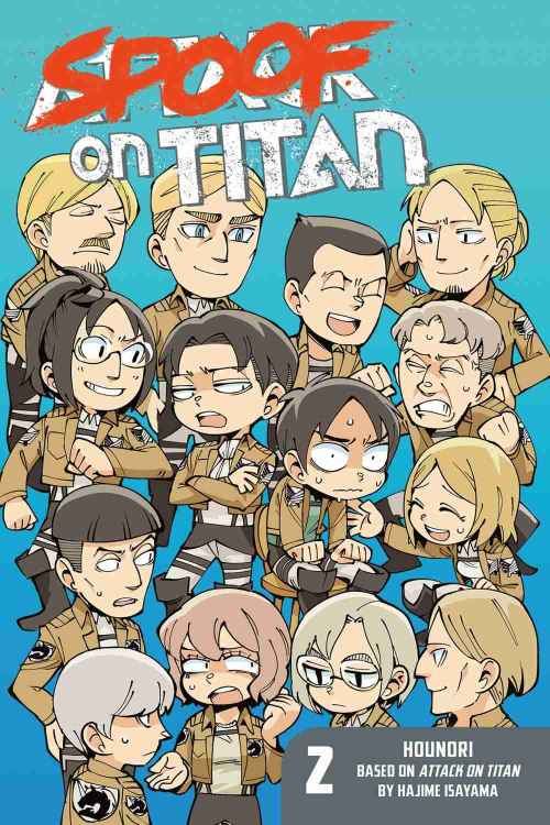 Shingeki No Kyojin Spoof on Titan [52/??] [MANGA] [MEGA-MEDIAFIRE] [PDF]