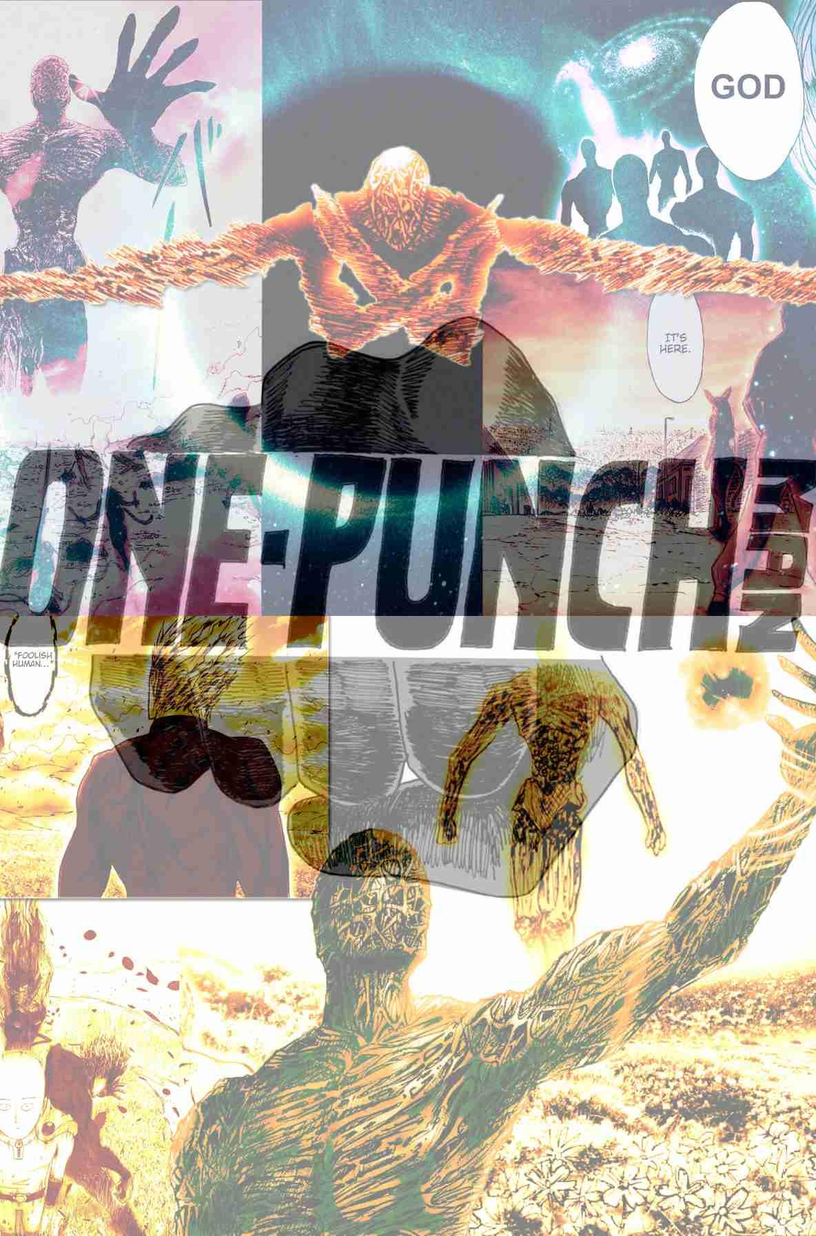 One Punch Man - Saitama vs God 07/?? DOUJINSHI [MEGA ...