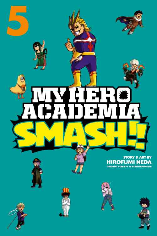 My Hero Academia SMASH!! [94/??] [MANGA INGLES] [MEGA-MEDIAFIRE] [PDF]